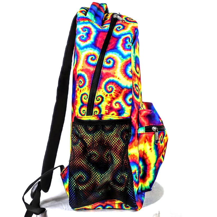 Rainbow Spiral Back Pack