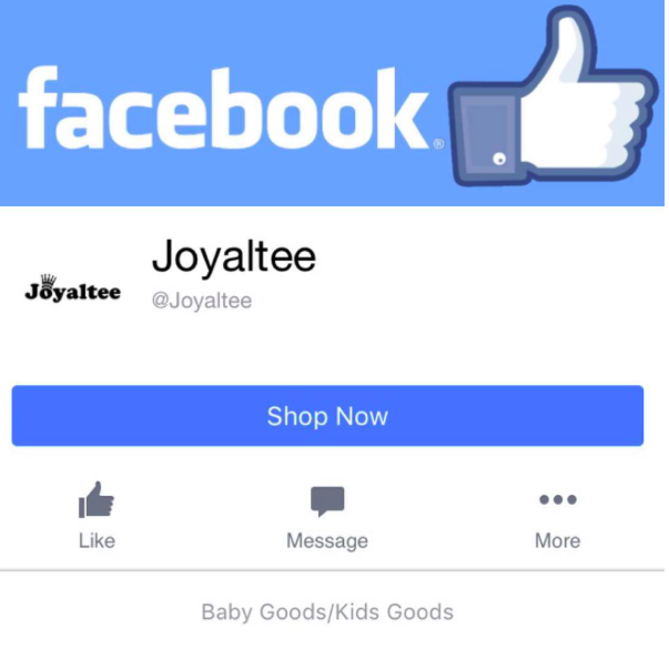 Come Follow Joyaltee on FACEBOOK!