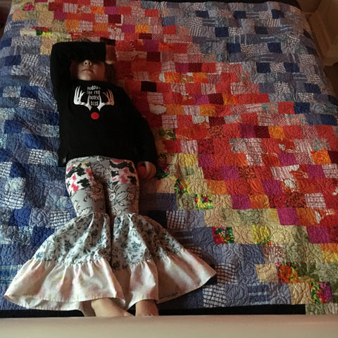 upcycled clothing quilts, memory quilts, joyaltee recycled kids clothes