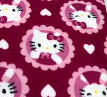 "Load image into Gallery viewer, Handmade Baby Blanket, Hello Kitty, Perfect Baby Shower Gift!!! By ""Ava's Awesomeness"""
