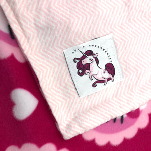 "Handmade Baby Blanket, Hello Kitty, Perfect Baby Shower Gift!!! By ""Ava's Awesomeness"""