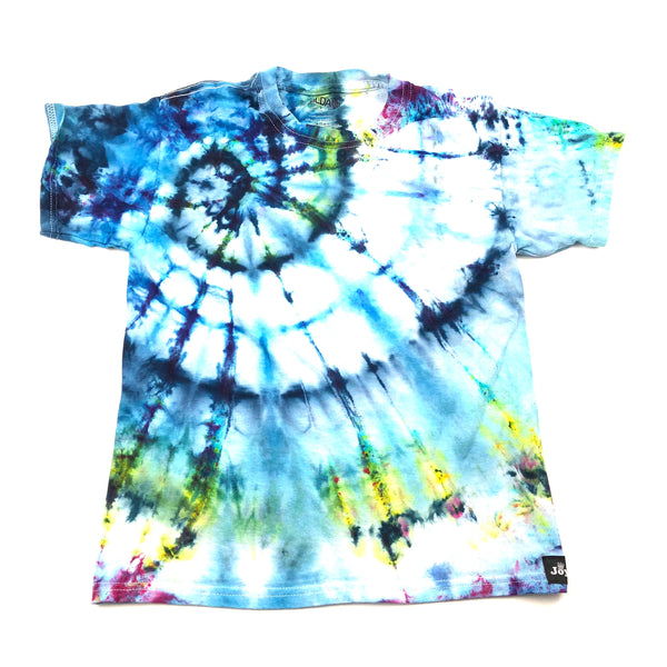 Youth Small, Gildan, Size 6/8, Ice Dyed-- Tie Dyed T Shirt