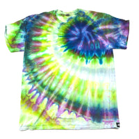 Adult Large (Men's) Ice Dyed T, Bright and Vibrant Tie Dyed T Shirt!