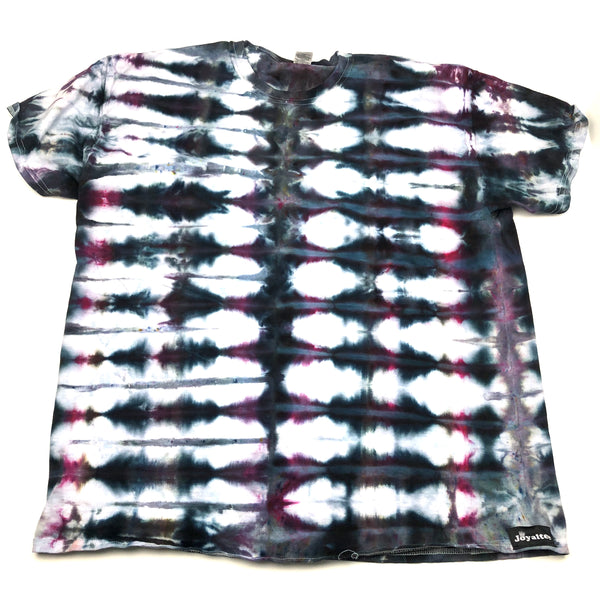 Adult XLarge (Men's) Ice Dyed T, Bright and Vibrant Tie Dyed T Shirt!