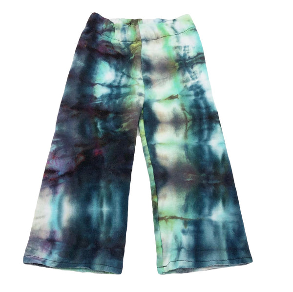 12-18 Months, Tie Dyed Upcycled SweatShirt Lounge Pants, Ice Dyed