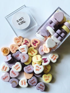 personalize mints for baby shower