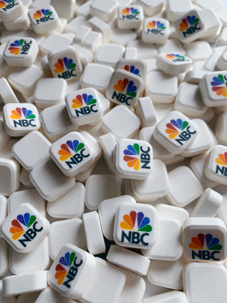 promotional mints with business logo