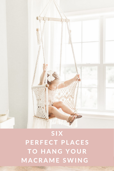 6 Perfect Spots to Hang Your Macrame Swing