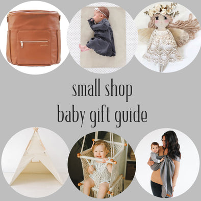 small shop baby gift guide