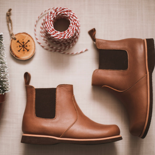 SECONDS Viajero Chelsea Boot {Children's Leather Boots}
