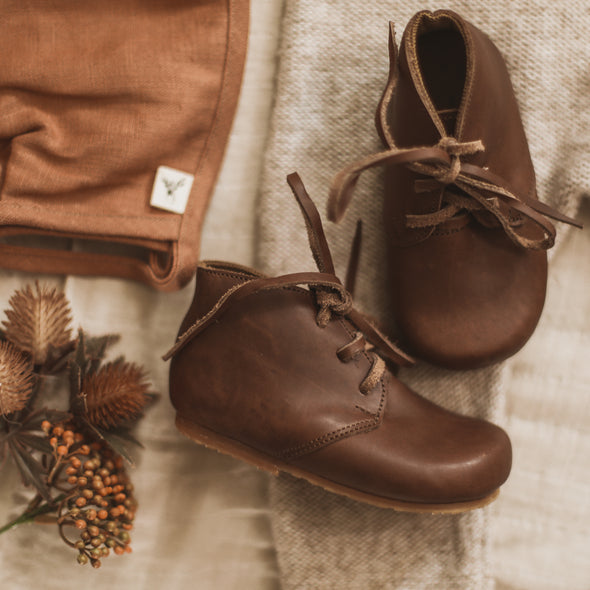 Dark Brown Ticuantepe {Leather Boots}