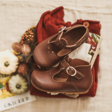 Dark Brown Dalia {Leather Shoes}