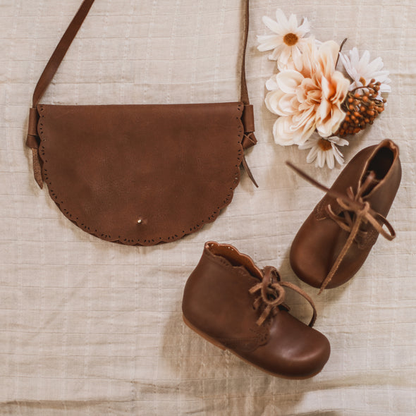 Dark Brown Primavera {Leather Boots}