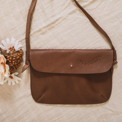 Dark Brown Cosecha Satchel