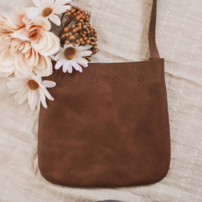 Dark Brown Sol Satchel