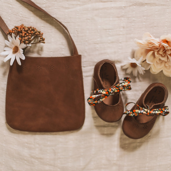 SECONDS Dark Brown Sol {Leather Shoes}