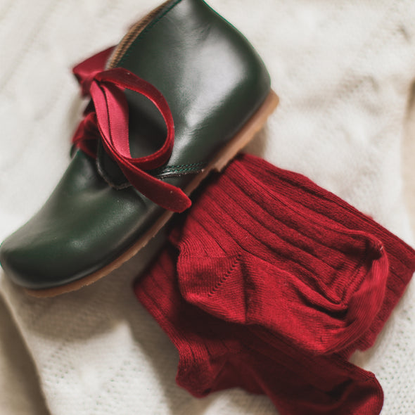 Green Ticuantepe {Leather Boots}