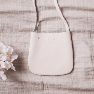 Cream Sol Satchel