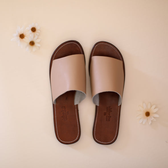 Verano Slide {Women's Leather Sandals} Wildflower Collection