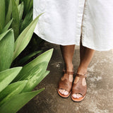 Adelisa & Co. Handmade leather shoes, sandals. Women's. Handmade in Nicaragua.