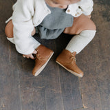 Adelisa & Co. Leather Kid Antigua Oxford Shoes Handmade in Nicaragua AW17