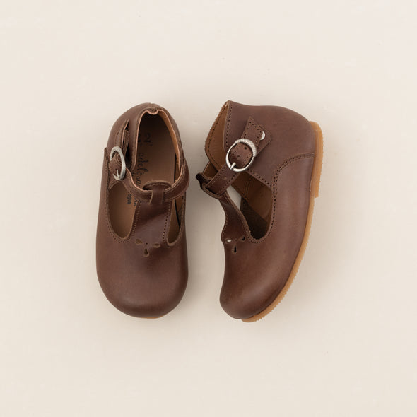 SECONDS Dark Brown Dalia {Leather Shoes}