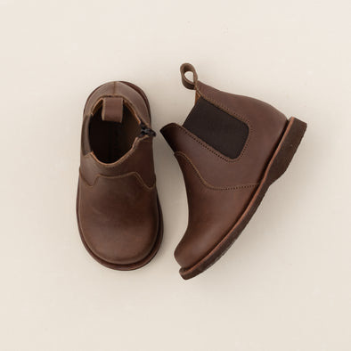 Dark Brown Viajero Chelsea Boot {Leather Boots}