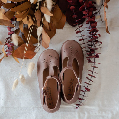 SECONDS Dark Brown Catarina Mary Jane {Children's Leather Shoes}