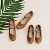 Brown Genuine Leather Adelisa & Co. Sandal for women. Handmade in Nicaragua.