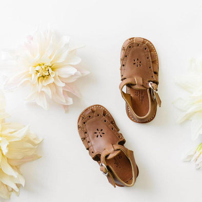 Flora {Children's Leather Sandals}