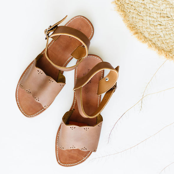 SECONDS Bella {Women's Leather Sandals}