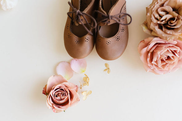 Adelisa & Co. Genuine Leather Sol Children's Shoe Vintage Spring Collection