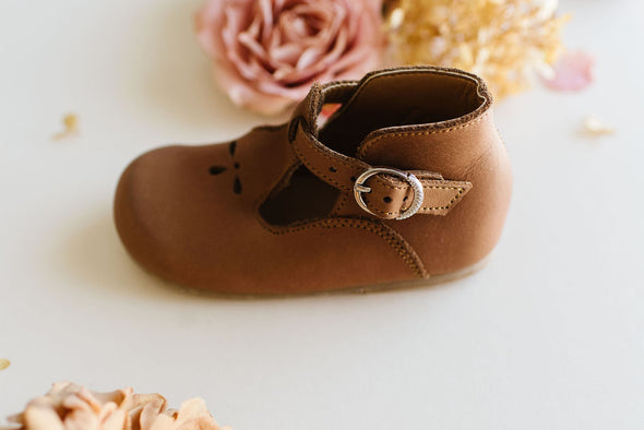 Adelisa & Co. Genuine Leather Dalia Children's Shoe Vintage Spring Collection