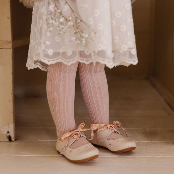 Cream Sol {Children's Leather Shoes}