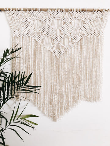 Macrame Wall Hanging {Diamante}