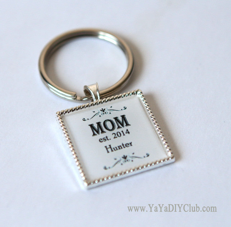 Custom MOM key chain