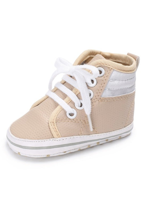 Nude High Top Sneakers