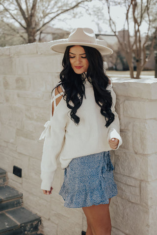 Chase Frills Off the Shoulder Top