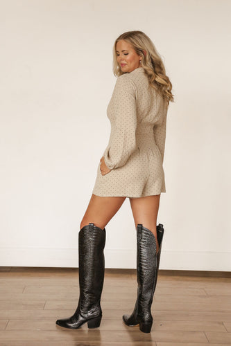 Kelli Over the Knee Boot (Taupe)