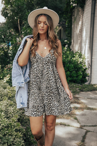 Show Up Leopard Dress