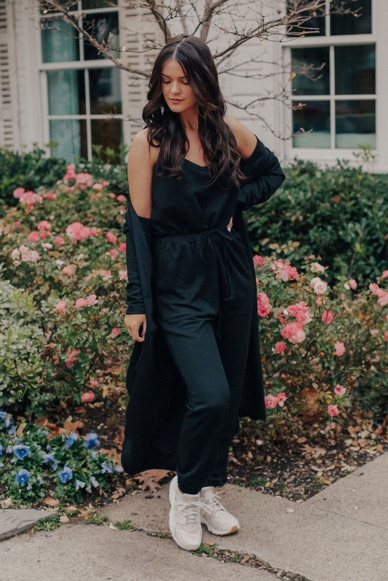 Maggie Flower Maxi Pants