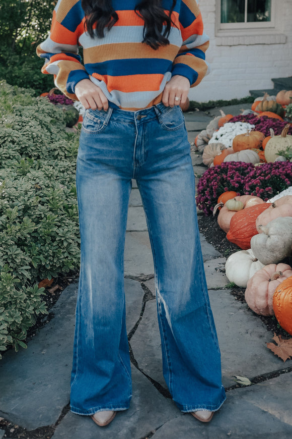 Chelsea High Rise Flare Jean