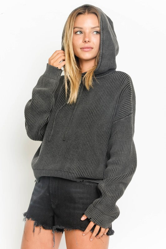 Charcoal Wash Sweater