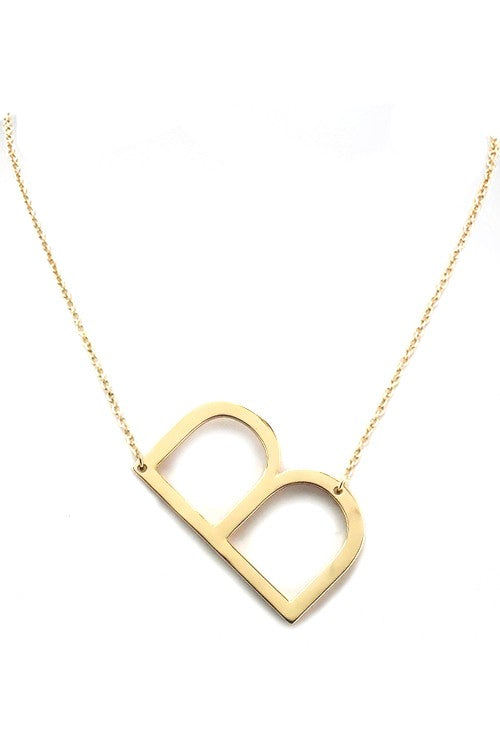 Letter Necklace (More letters to choose from in selection box!)