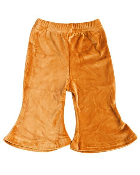 Velour Boho Bell Bottoms - CAMEL