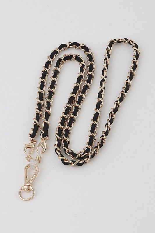 Black Rope Mask Chain