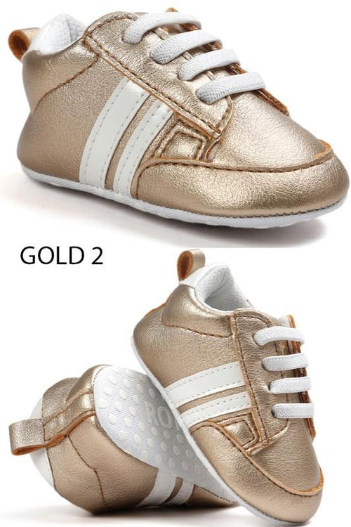 Step Up Sneaker - GOLD2
