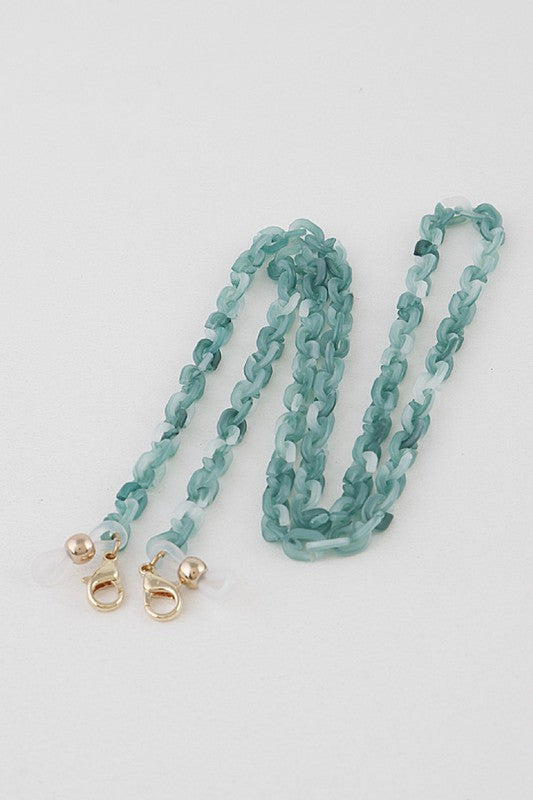 Linked Up Mask Chain (Green)