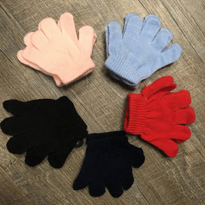 Mini Gloves - Grey Suede