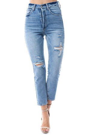 Maven High Rise Denim Jean